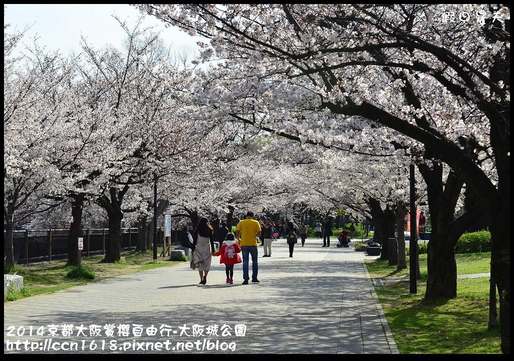 2014京都大阪賞櫻自由行-大阪城公園DSC_1718