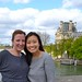Me & Christina & the Louvre by AliceWonderland0