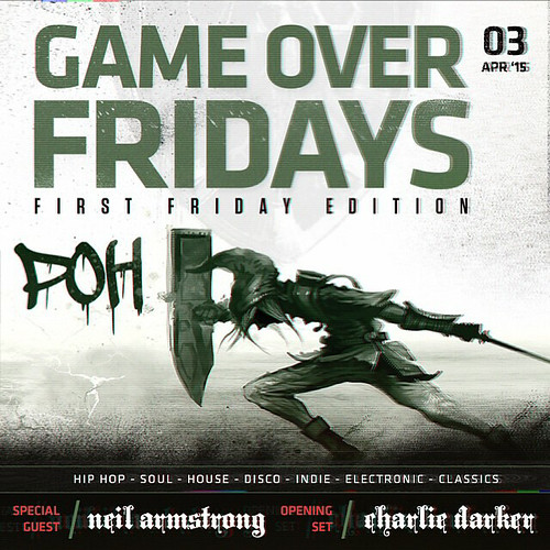 4/3 - Game Over Fridays @ Insert Coin(s) LV