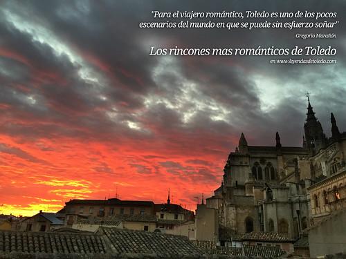 Rincones para enamorados en Toledo