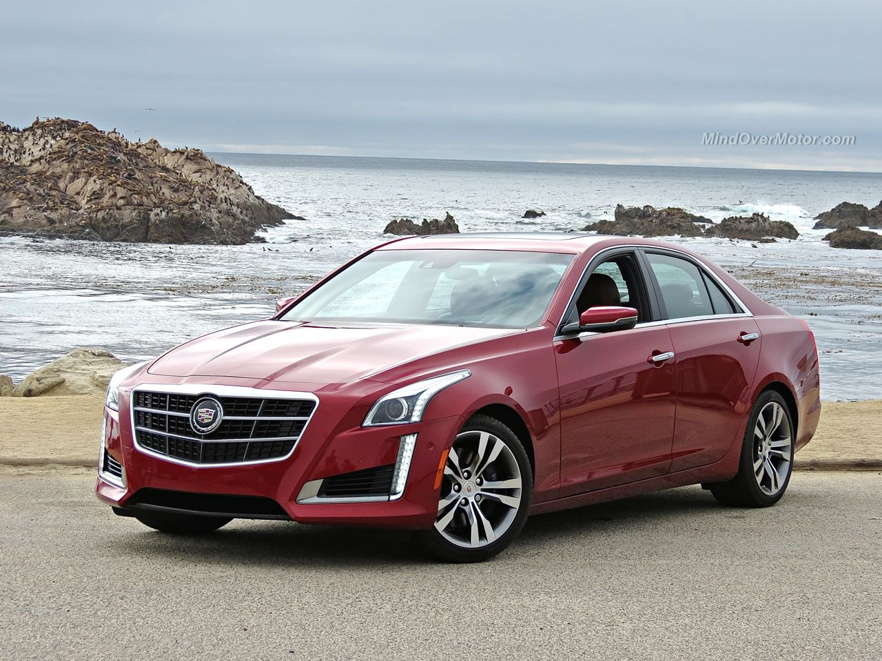 front o review a vsport motor how cadillac is cts over mind much