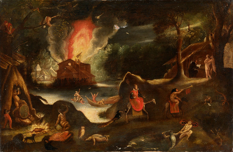 Jacob Isaacsz van Swanenburg - Temptation of Saint Anthony