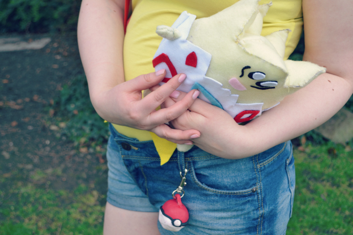 misty cosplay togepi