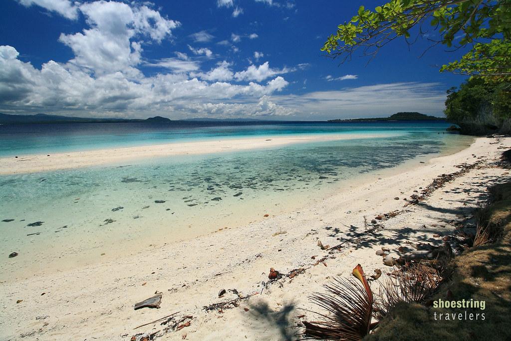 Sandbar at Low Tide