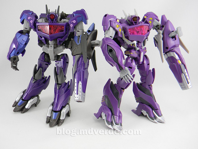 Transformers Shockwave Voyager - Generations SDCC Exclusive (Shockwave's Lab) - modo robot vs Go!