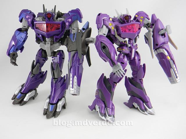 Transformers Shockwave Voyager - Generations SDCC Exclusive (Shockwave's Lab) - modo robot vs Go!