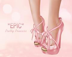 Epic - Pretty Princess Peep Toes