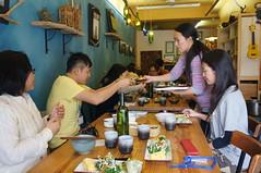 午餐在好糧食堂用餐,品嘗在地食材的美味