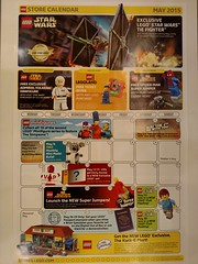 May Store Calendar Star Wars