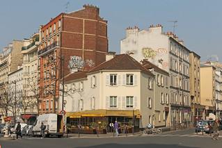 Rue du Faubourg Saint-Antoine - Paris (France)