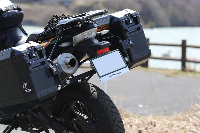 F800GS 20150406 車載カメラテスト