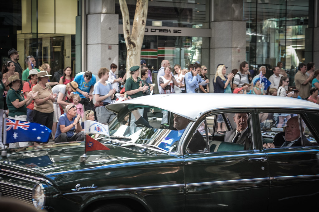ANZAC Parade 2015