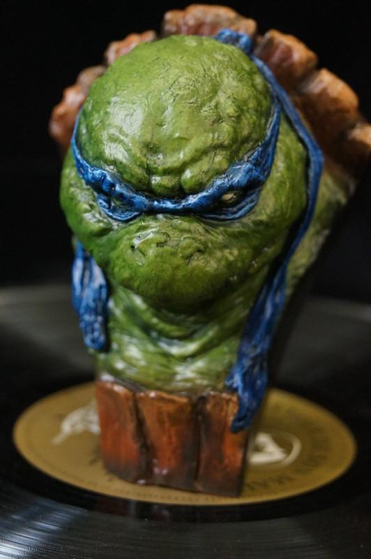 1/4 TMNT sculpté par Cyril Roquelaine 17107304277_3db07b6c99_c