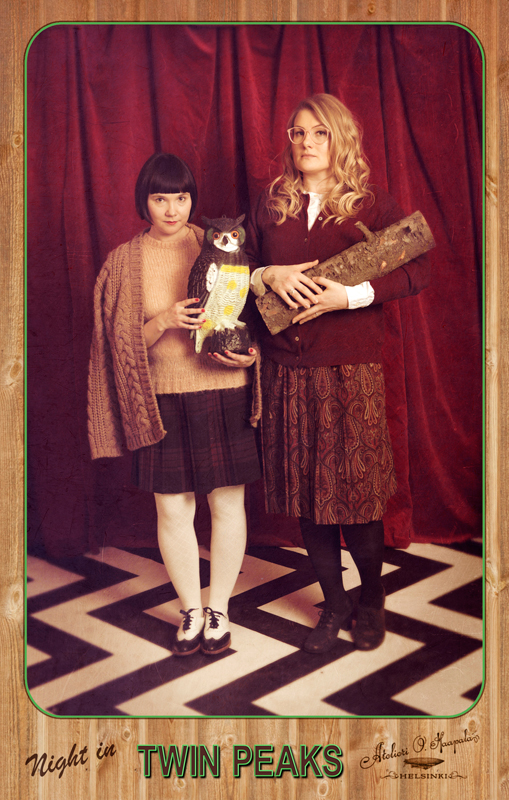 Twin Peaks photobooth