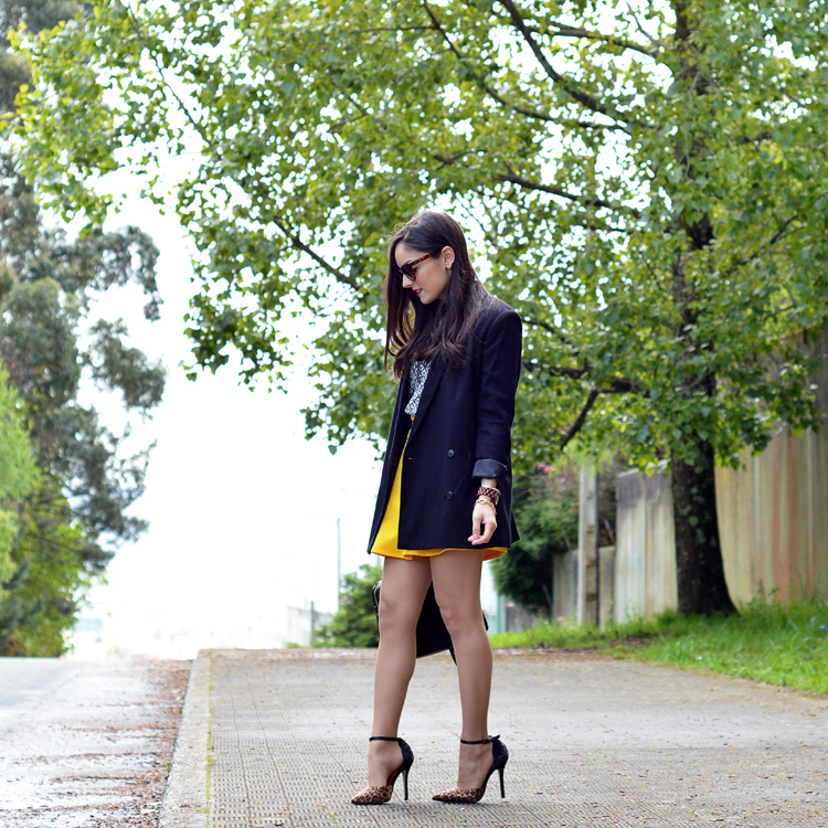 Zara_ootd_outfit_yellow_animal_print_blazer_02