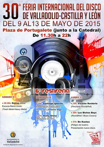 30ª Feria Internacional del Disco de Valladolid-Castilla y León