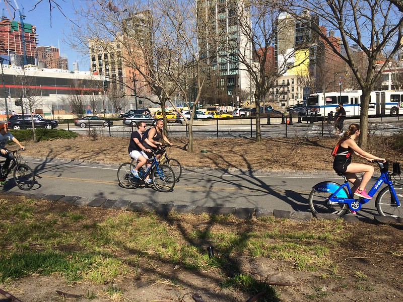 Bikes in NYC spring