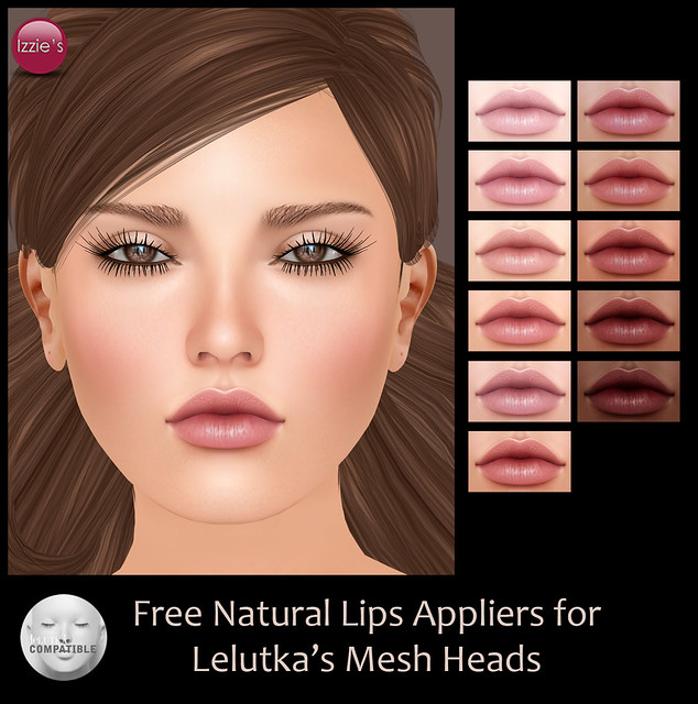 LeLutka Free Natural Lips Appliers