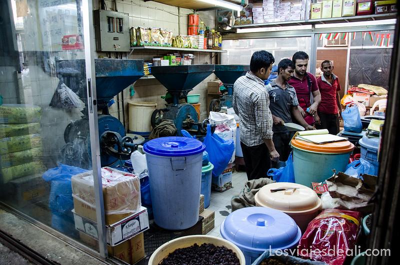 vida cotidiana en Omán Seeb
