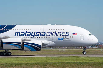 Malaysia Airlines A380 (Airbus)