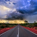 Gathering storm panorama from Western Australia by Stawroncs