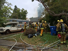Fatality Fire in Valley Village