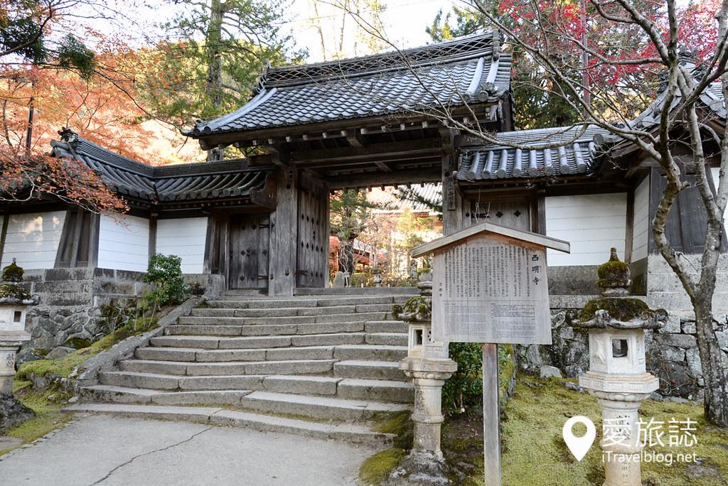 京都赏枫景点 高雄西明寺 01