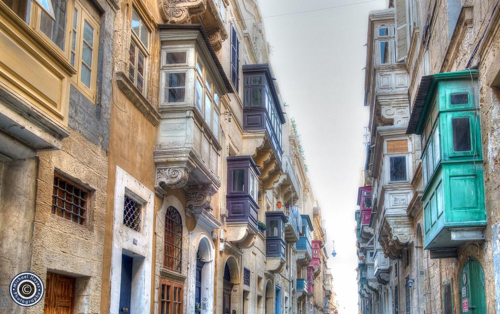 Valletta Balconies (1)