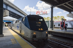 Amtrak New York Yankees Special Train