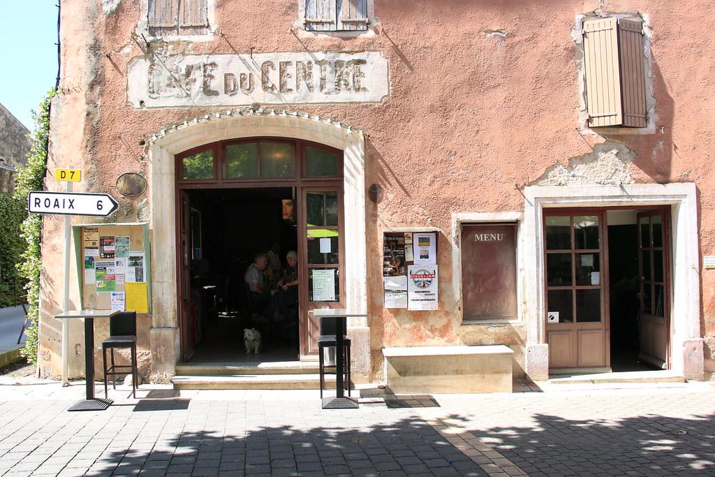 provence village villedieu cafe