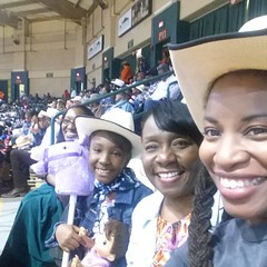 We had a blast at our latest Girls Night Out get 2gether - at the Bill Pickett Invitational rodeo #billpickettrodeo #billpickett #rodeo