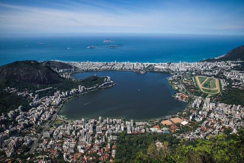 Lagoa Rodrigo de Freitas  Rio de Janeiro Brazil Brasilia