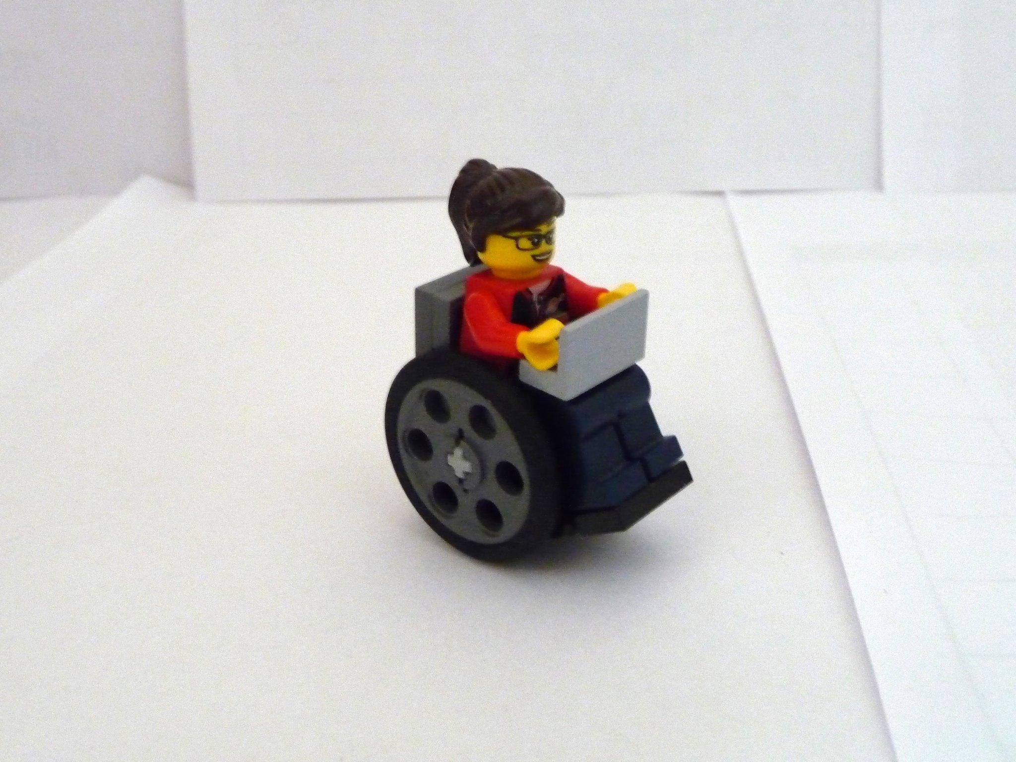 [MOC] Oracle - fauteuil roulant  16272070114_0328d5a781_k