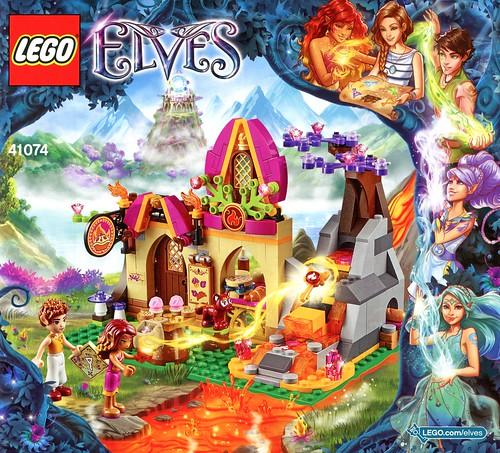 LEGO Elves 41074 Azari and the Magical Bakery ins02