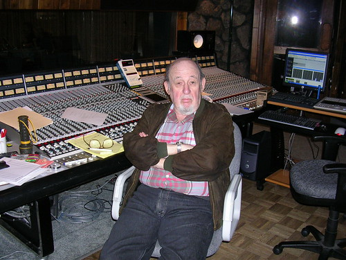 Orrin Keepnews Producing Wesla Whitfield @ Fantasy Studios 2005-06-16