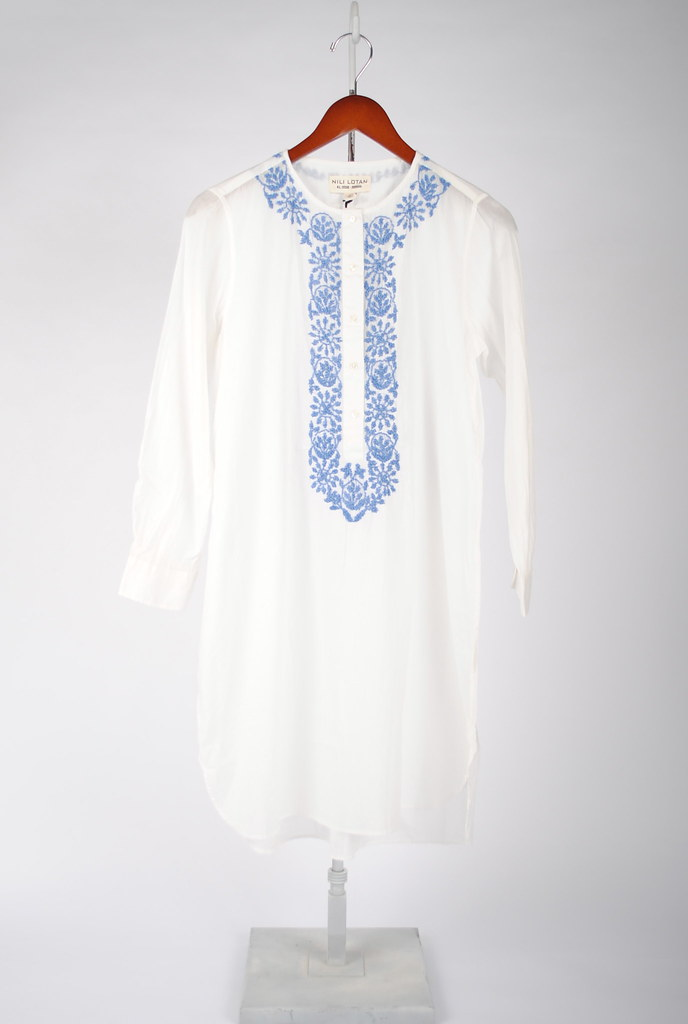 Embroidered Moroccan Tunic Dress