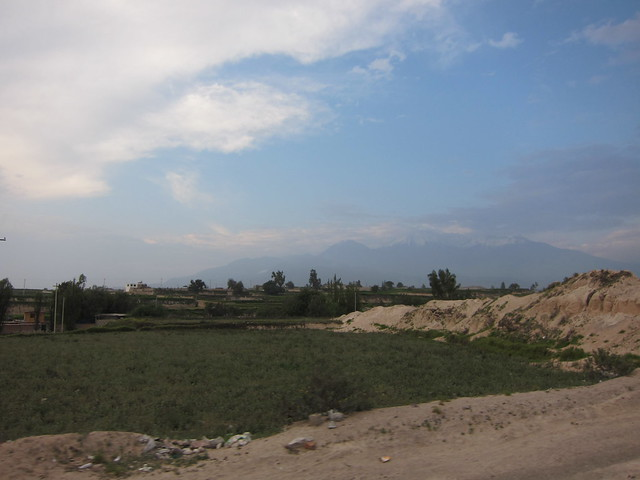 Mt. Misti in the background