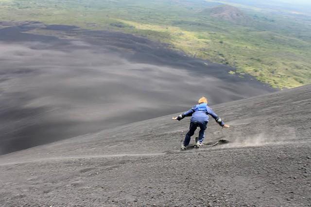 Cerro Negro, volcano climbing in Nicaragua