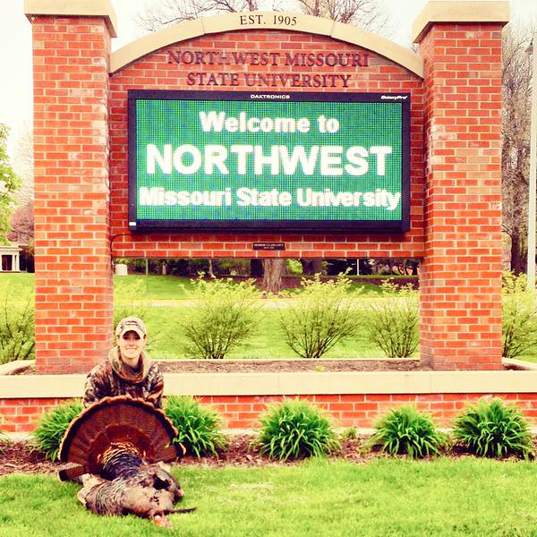 Forever Green and a turkey!
