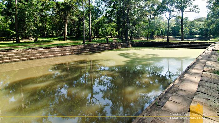 Sras Srei Pool in Angkor Thom, Siem Reap