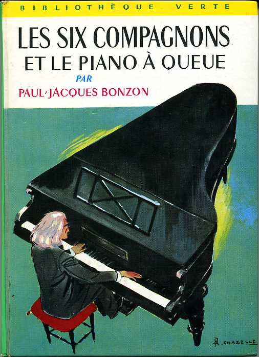 Les six compagnons et le piano queue by paul jacques for Jardin secret piano