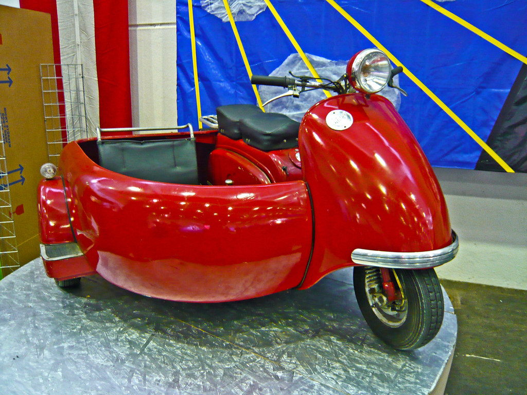Lohner L200 Rapid 1956 with side car (1000266)