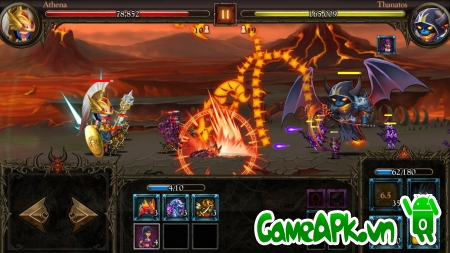 Epic Heroes War v1.1.13 hack full cho Android