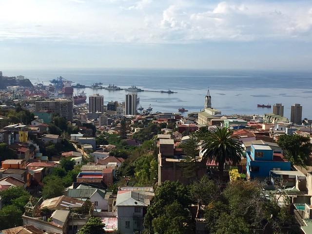 Valparaíso from La Sebastiana