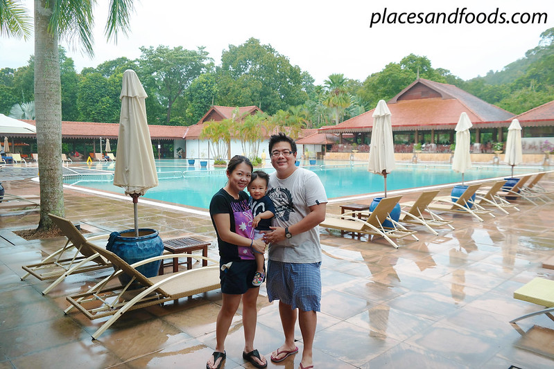 club med cherating family picture