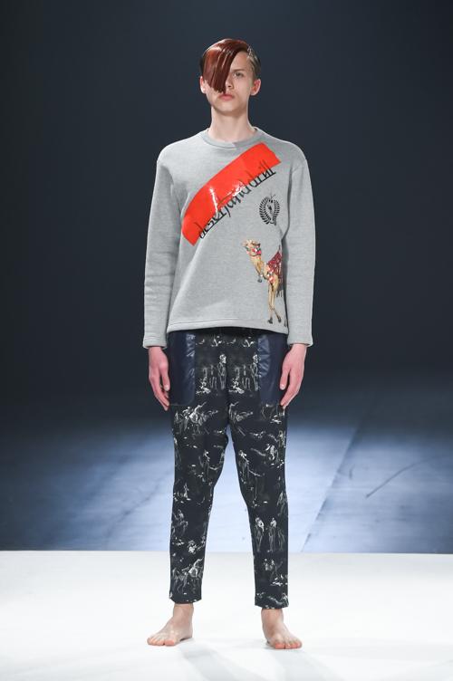 FW15 Tokyo yoshio kubo012_Art Gurianov(Fashion Press)