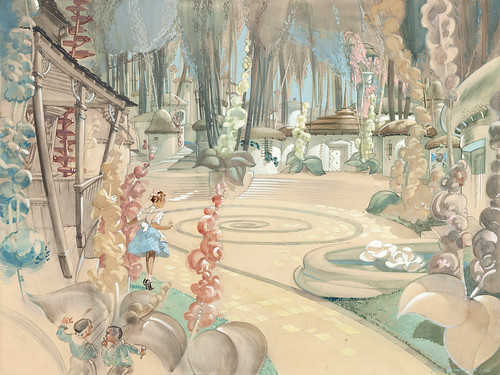Dorothy concept art from the Wizard of Oz by Jack Martin Smith