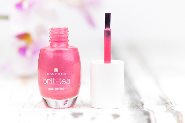 Swatches essence brit tea, essence brit-tea, Review brit-tea LE, 03 pink to go