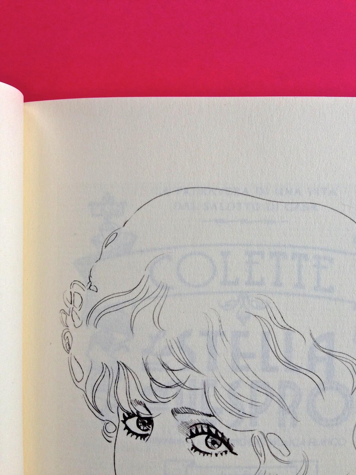 La stella del vespro, di Colette. Del Vecchio Editore 2015. Art direction, cover, illustrazioni, logo design: IFIX | Maurizio Ceccato. Ill. b/n, ritratto dell'autrice, a pag. 5 (part.), 1