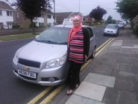 Layla Gharib passes her driving test in grimsby with 21st Century Driving